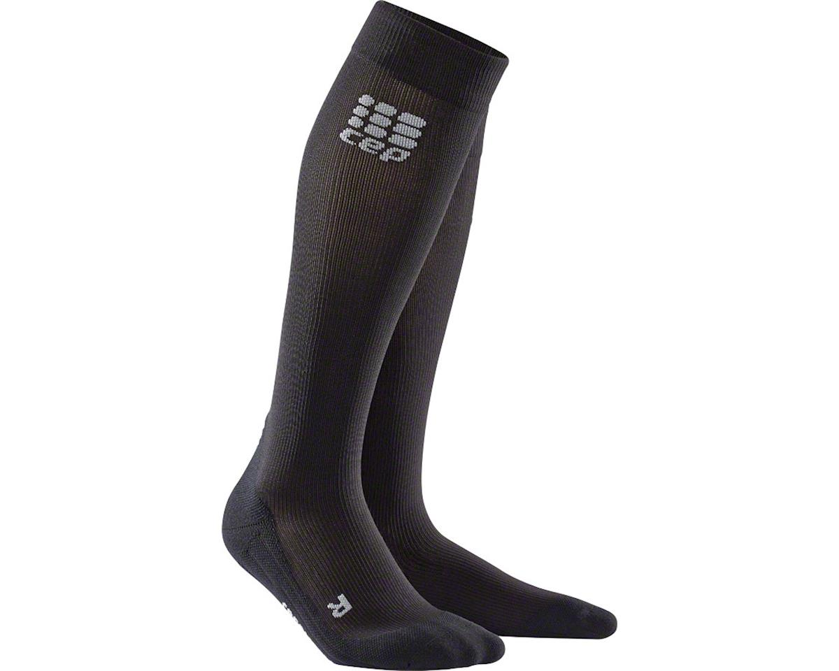 CEP Recovery+  Compression Socks - 10 inch, Black, Men's, Medium (XL)