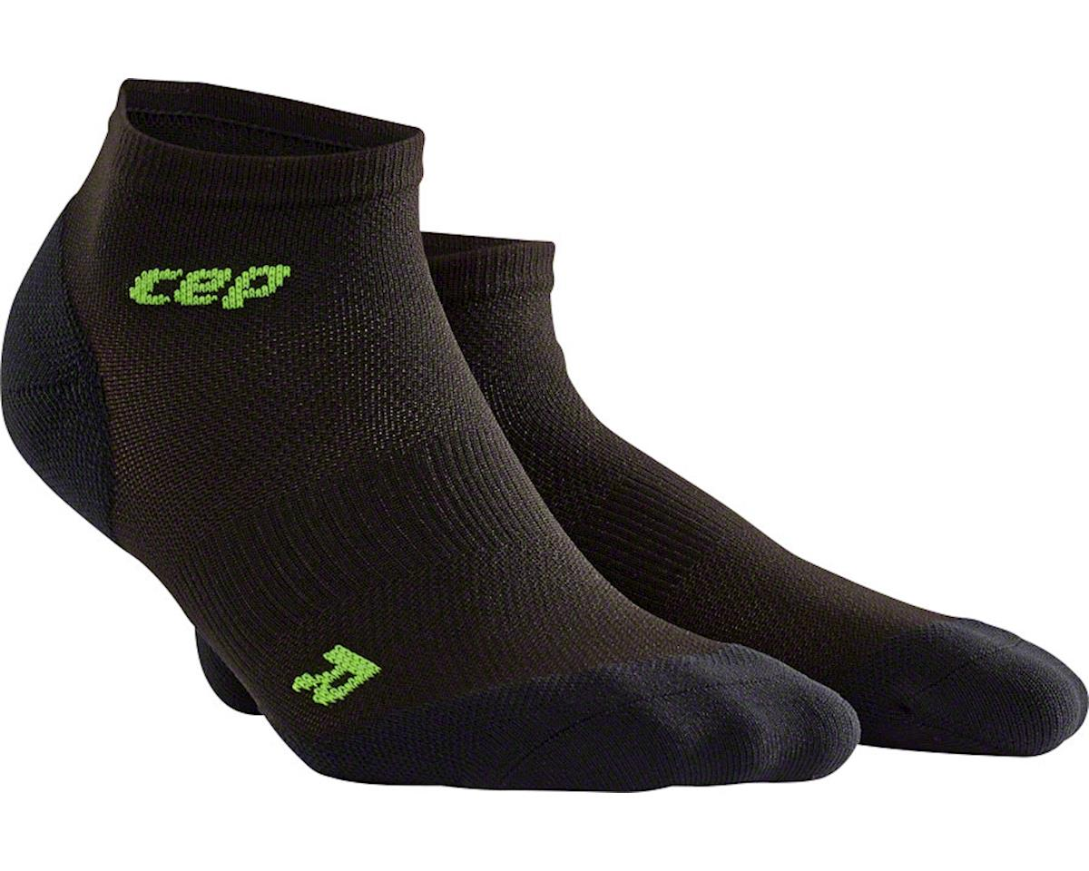CEP Dynamic+ UltraLight Low Cut Women's Compression Sock (Black/Green) (S)