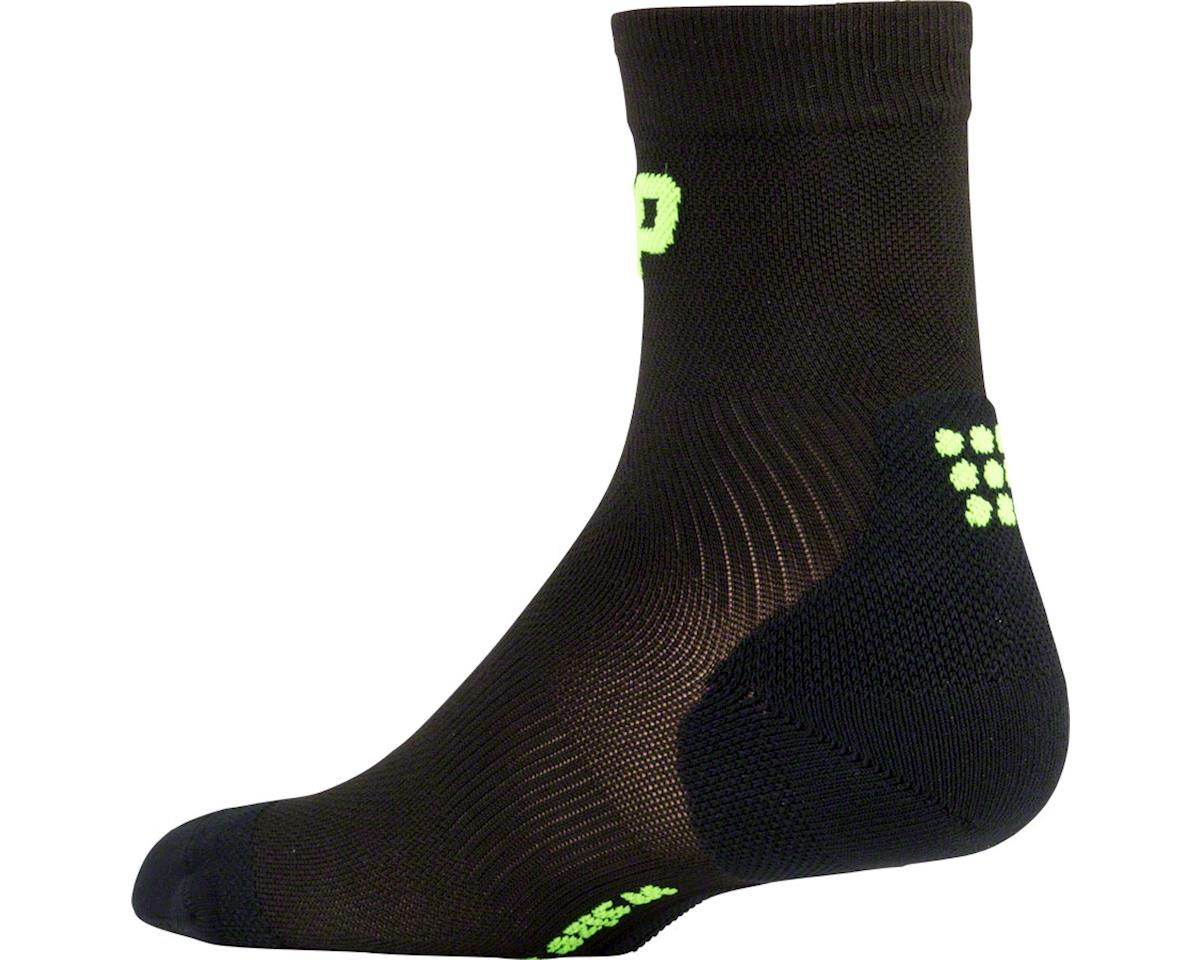 CEP Dynamic+ UltraLight Short Women's Compression Sock (Black/Green) (S)