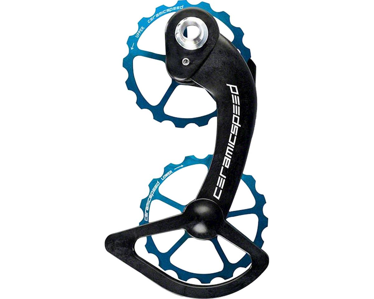 CeramicSpeed SRAM eTap Oversized Pulley Wheel System: Coated, Alloy Pulley, Carb