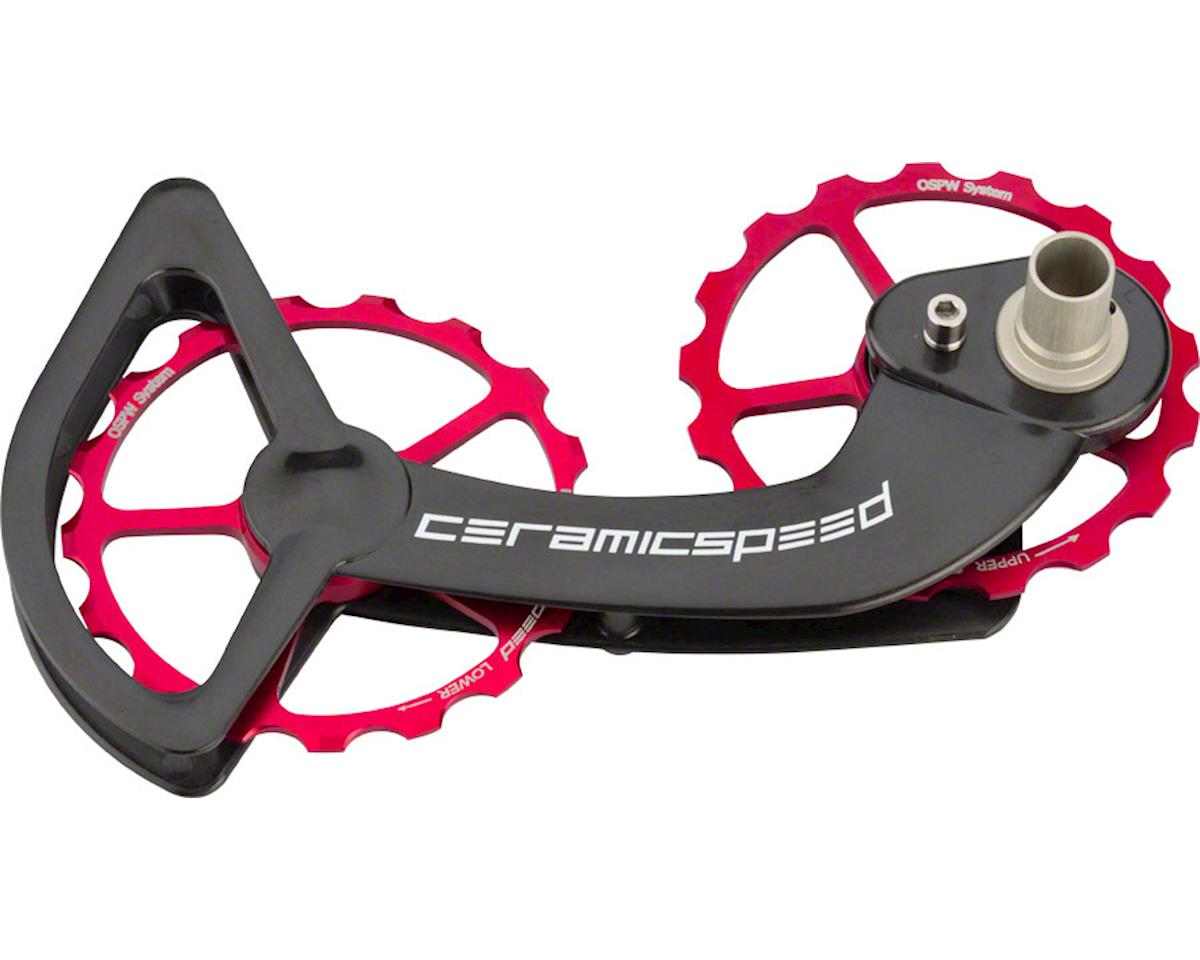 Ceramicspeed Shimano 10/11-speed Oversized Pulley Wheel System: Alloy Pulley, Ca