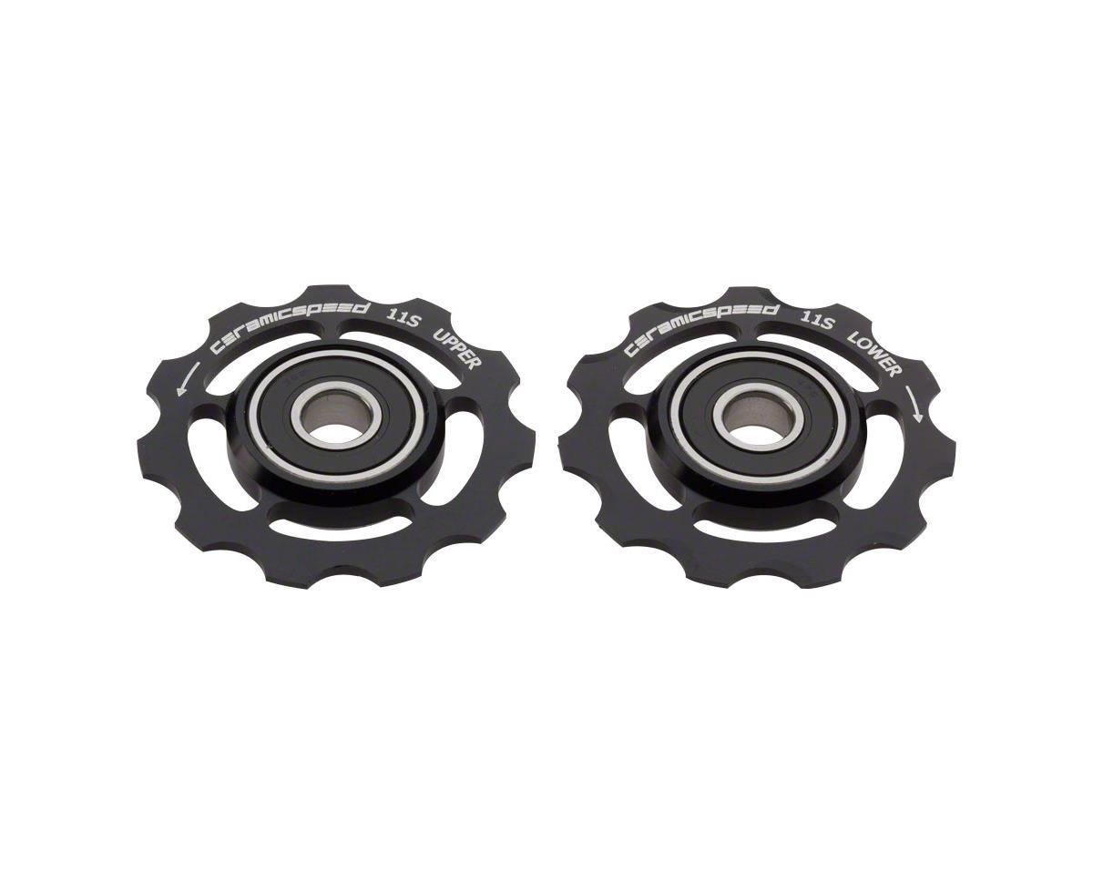 Ceramicspeed Shimano 11-speed Pulley Wheels: Alloy, Black [CSPW10601000] |  Parts