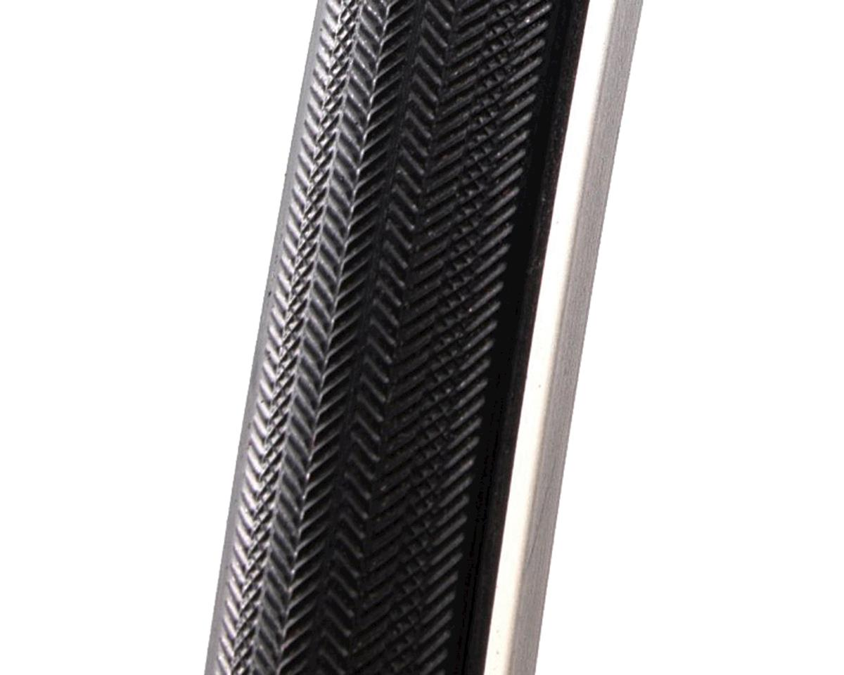 Challenge 700x25 Elite Open Tubular Black Tread, Black Casing
