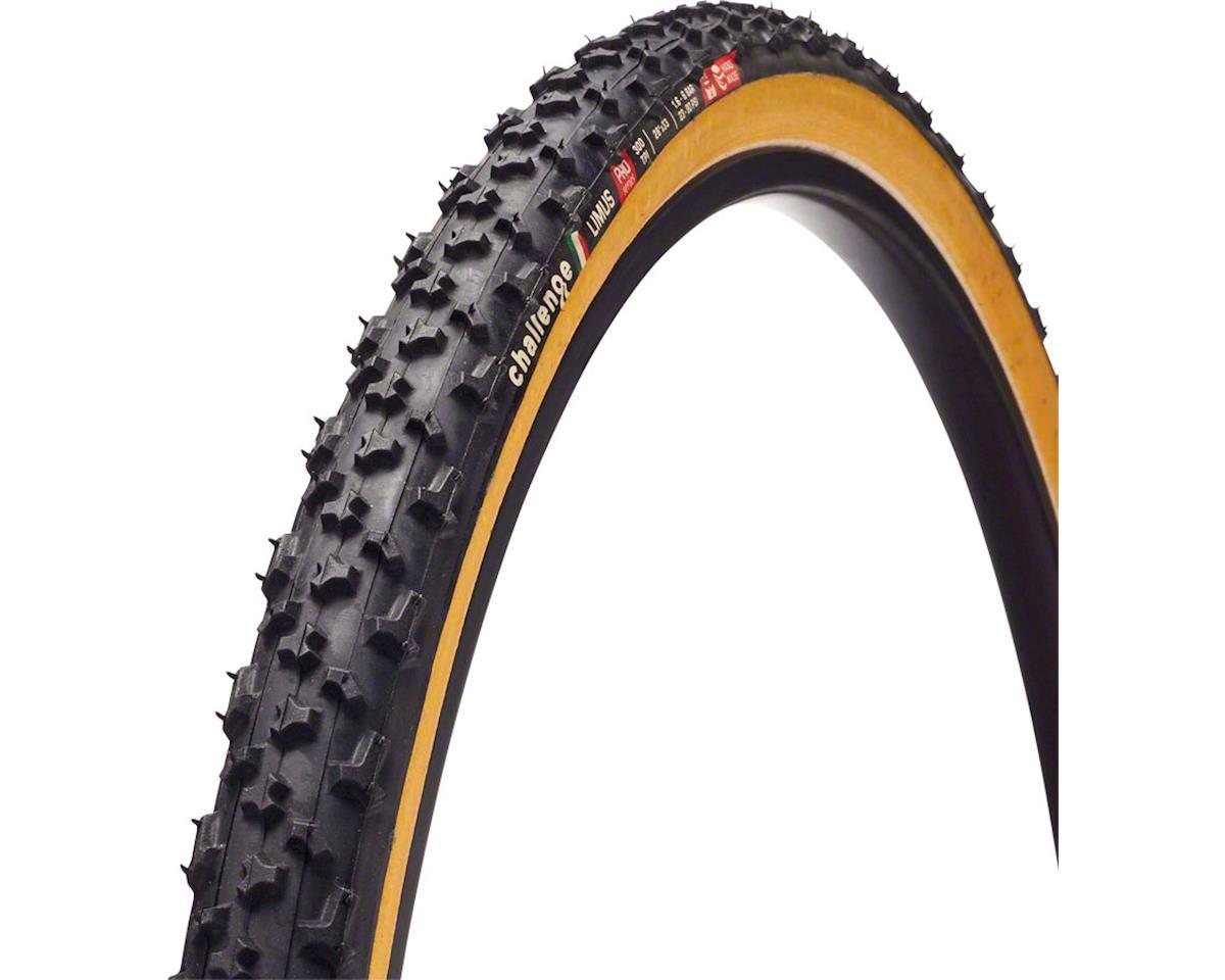Challenge Limus Pro Tire: Tubular, 700x33, 300tpi, Black/Tan