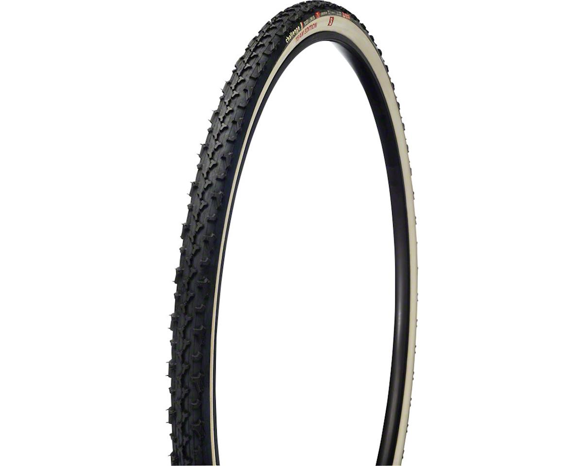 Challenge Baby Limus Team Edition S Tire: Tubular, 700 x 33mm, 320tpi, Black/Whi