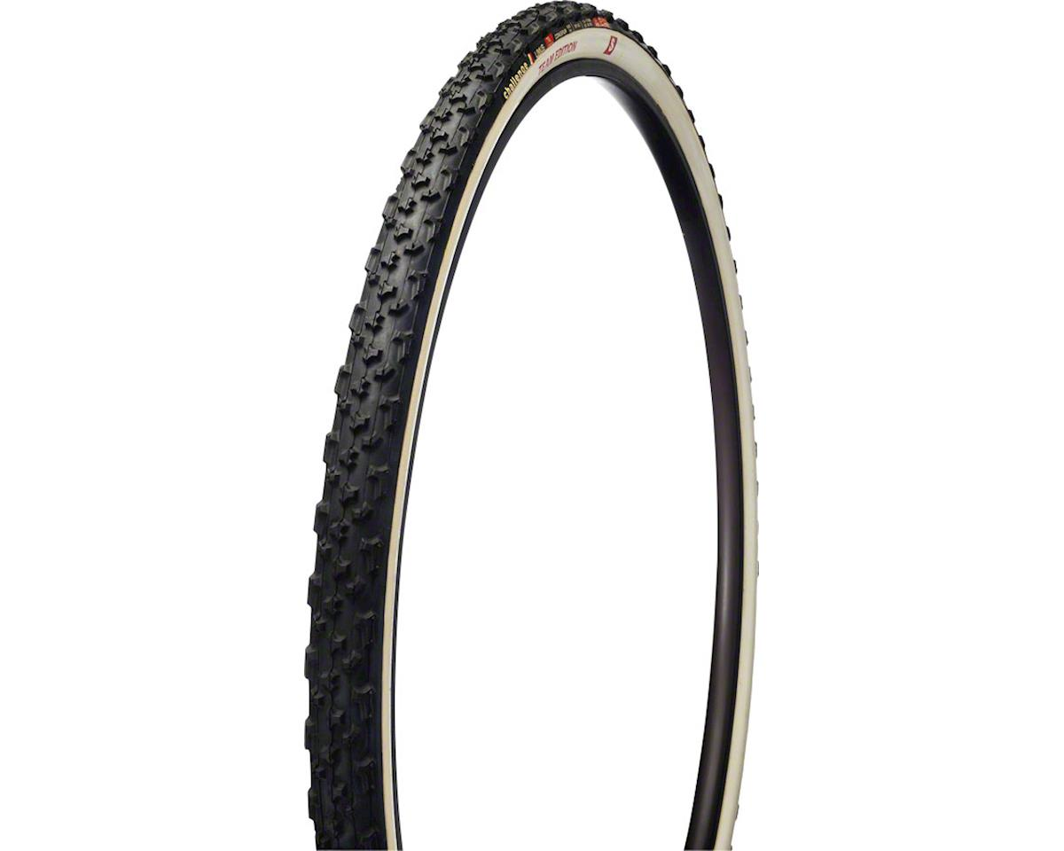 Challenge Limus Team Edition S Tire: Tubular, 700 x 33mm, 320tpi, Black/White