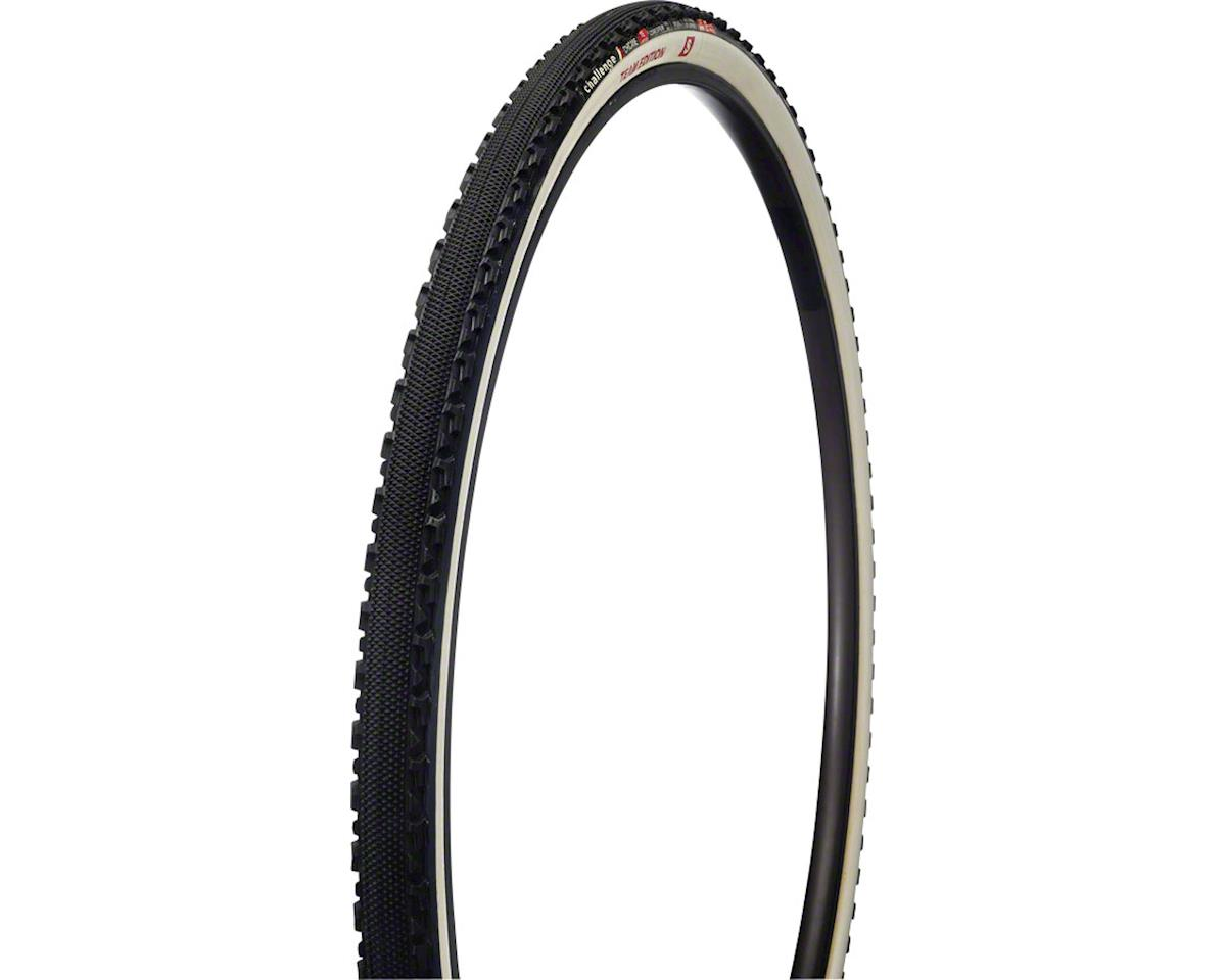 Challenge Chicane Team Edition S Tire: Tubular, 700 x 33mm, 320tpi, Black/White