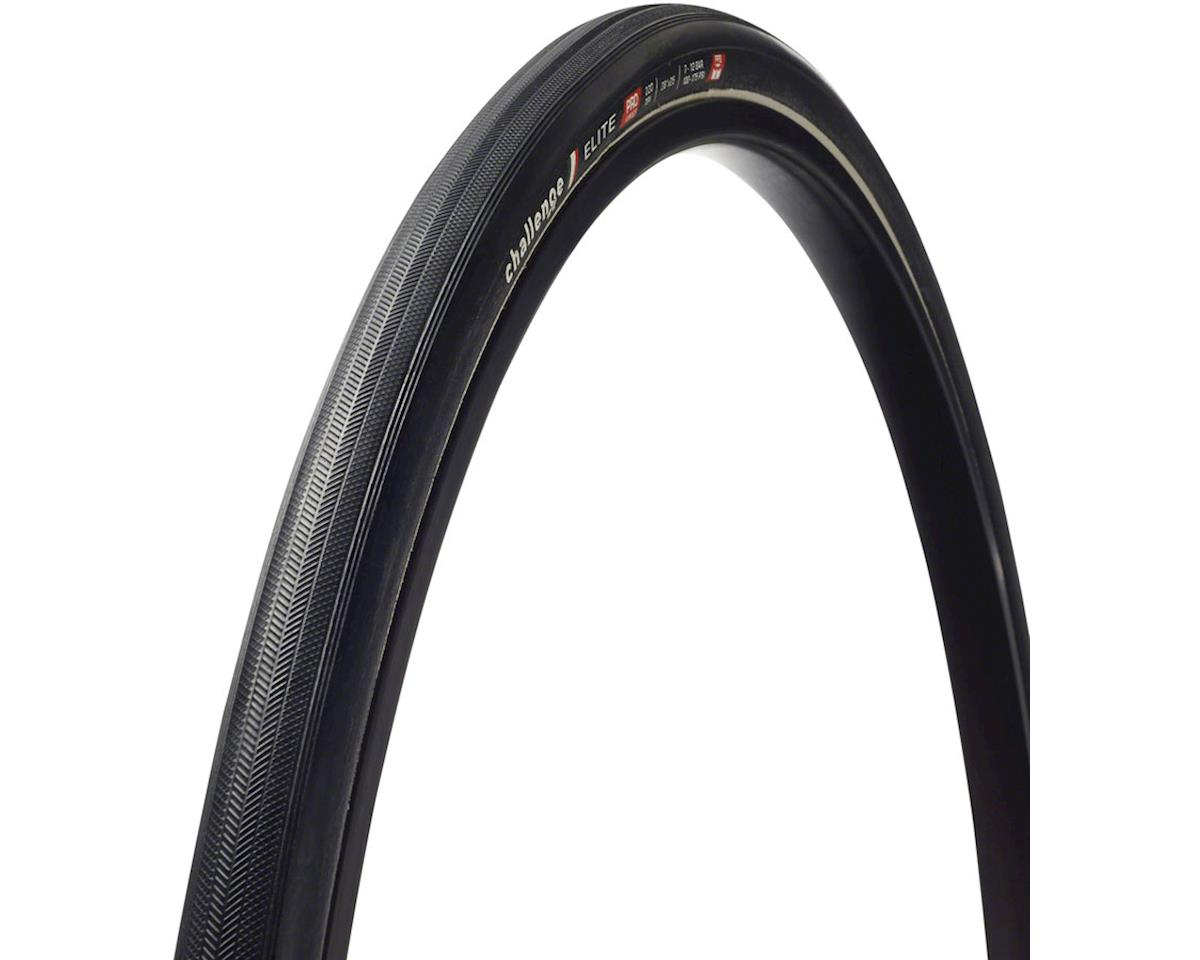 Challenge Elite Tire - 700 x 25, Tubular, Folding, Black, 220tpi