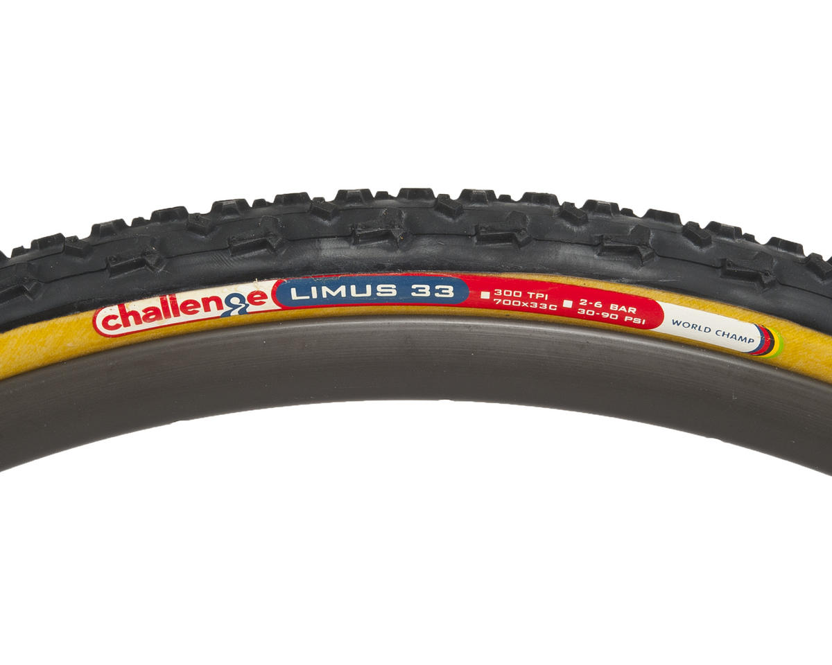 Challenge Limus Clincher Tire  (Black/Tan)