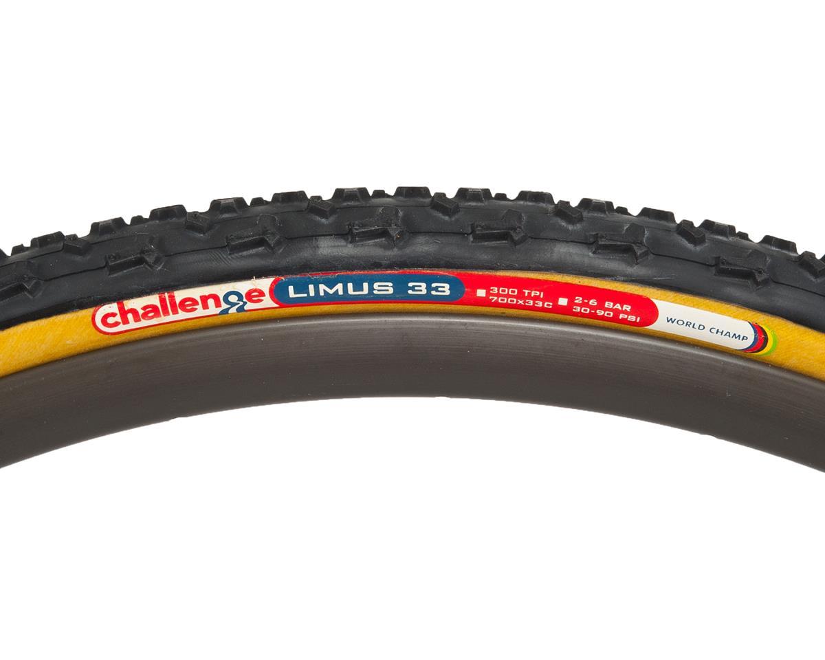 Challenge Limus Clincher Tire  (Black/Tan) (700 x 33)