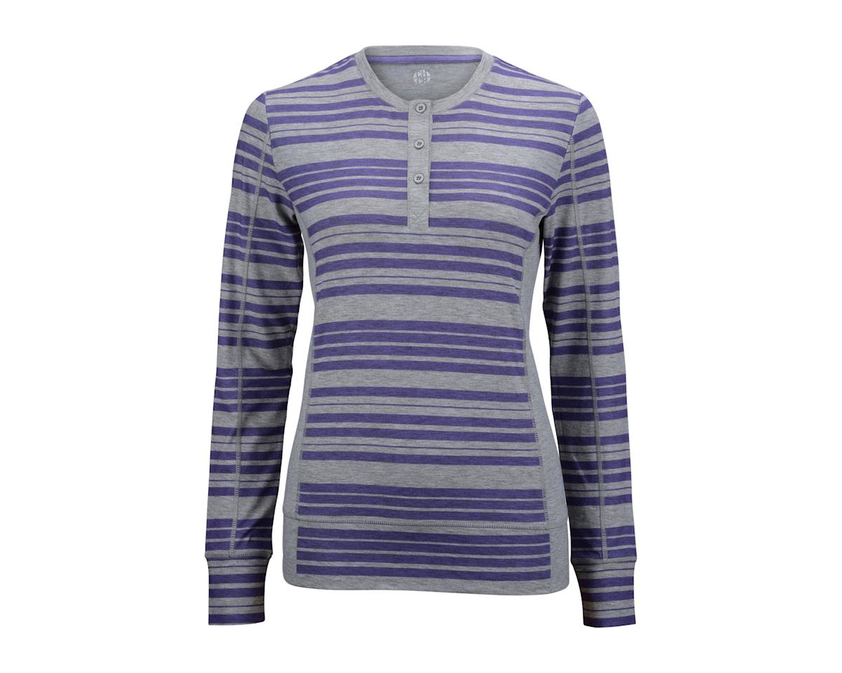 CHCB Women's Haley Henley Long Sleeve Jersey (Purple)