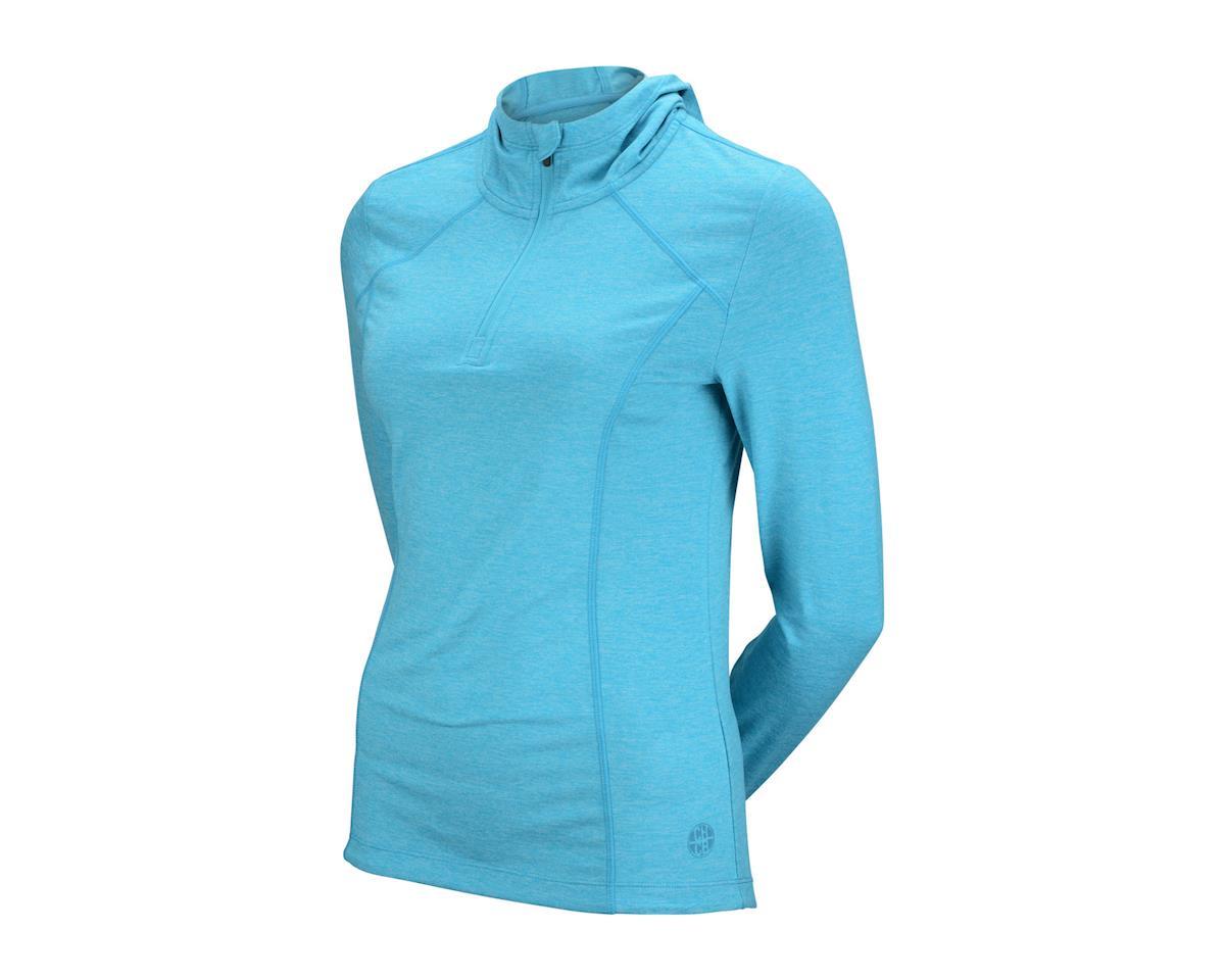 CHCB Women's Libba Hooded Long Sleeve Jersey (Teal Gr)