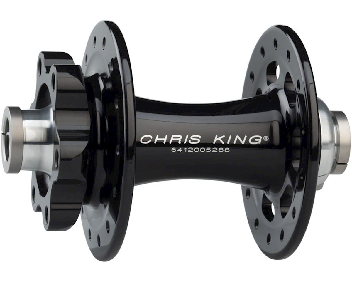 R45D 12mm Front Disc Hub, 28 Hole, Black