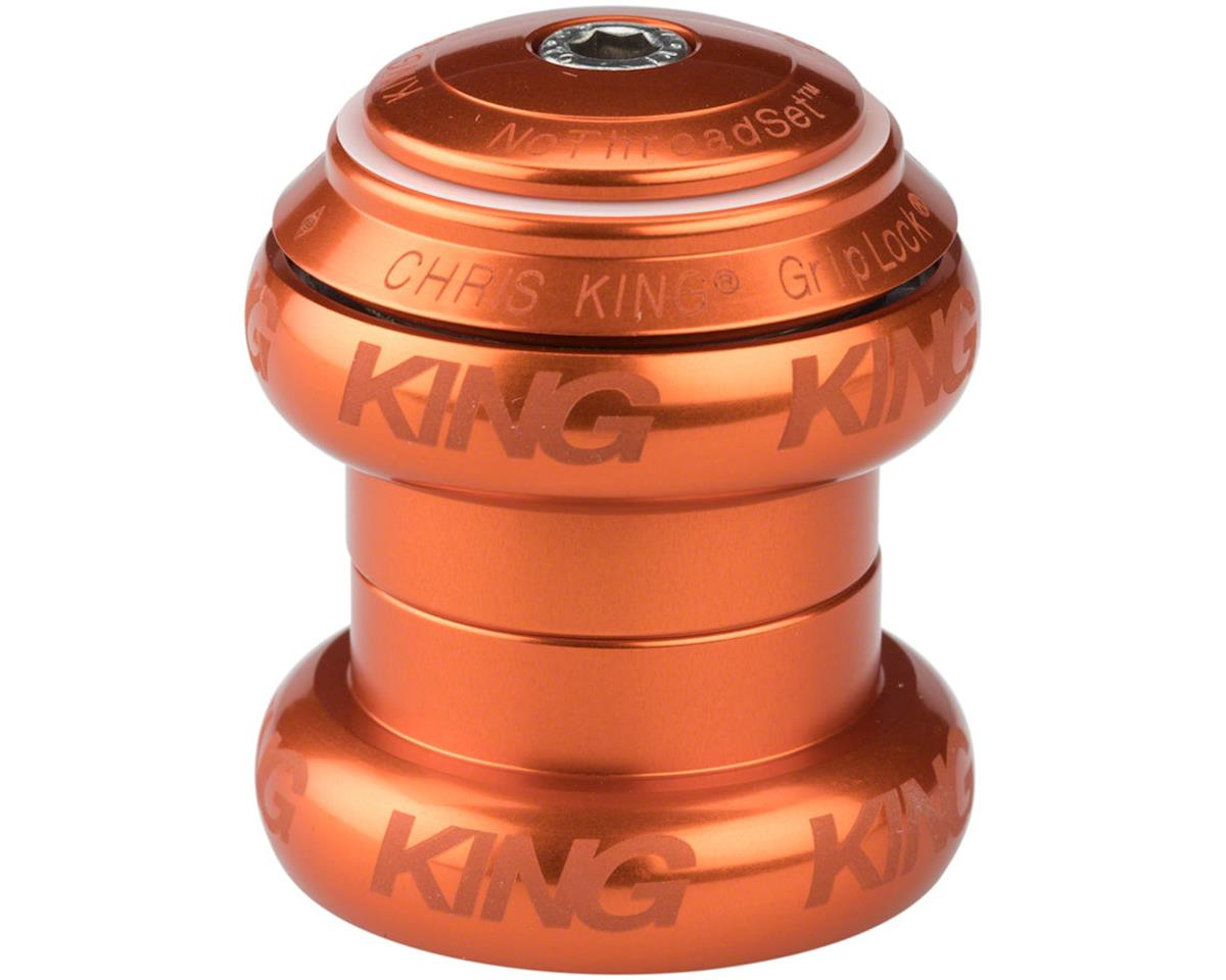 "Chris King NoThreadSet Headset, 1-1/8"" Mango Sotto Voce"