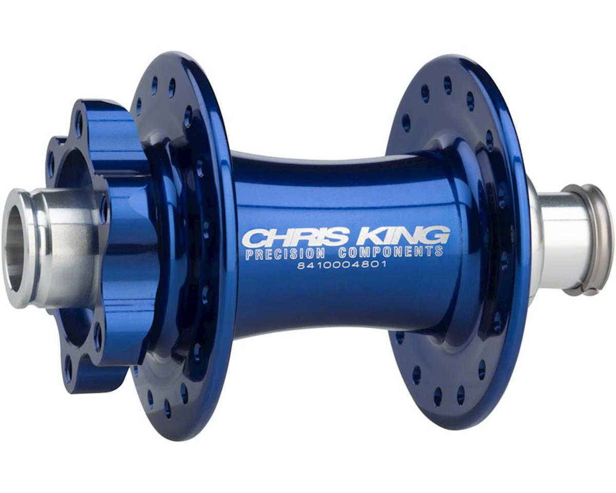 ISO 15 x 110mm Boost SD Front Disc Hub, 32 Hole Navy