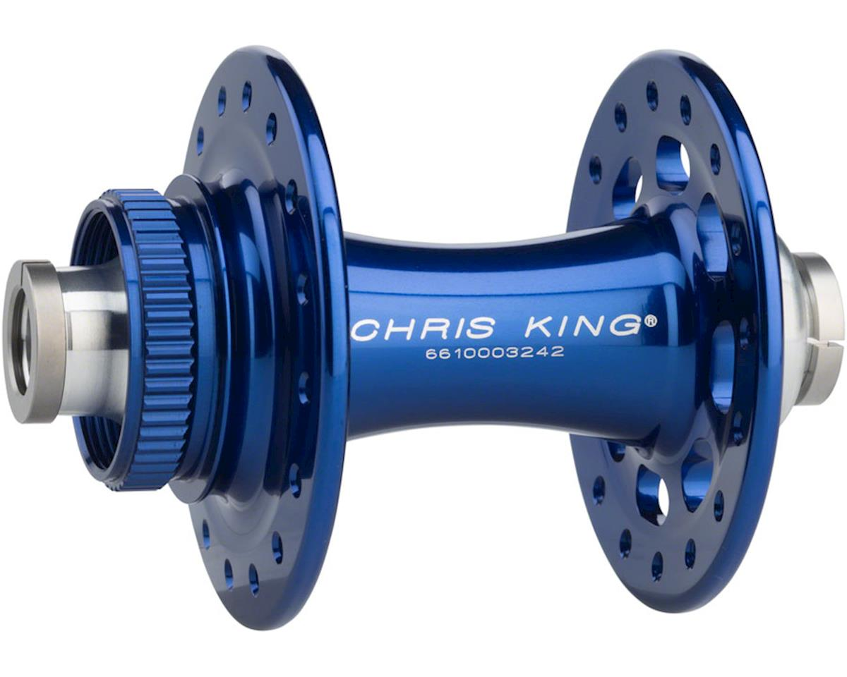 R45D 12mm Thru-Axle Front Centerlock Disc Hub, 32 Hole, Navy