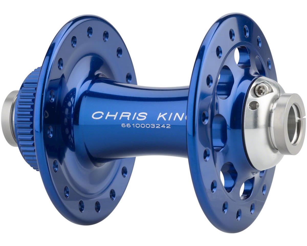 Chris King R45D 12mm Thru-Axle Front Centerlock Disc Hub, 32 Hole, Navy
