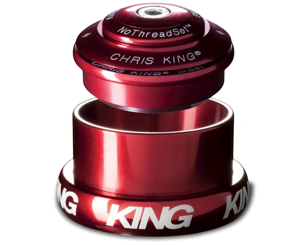 Chris King InSet 3 1.5 inch Tapered NoThreadSet Headset - Red (Red)