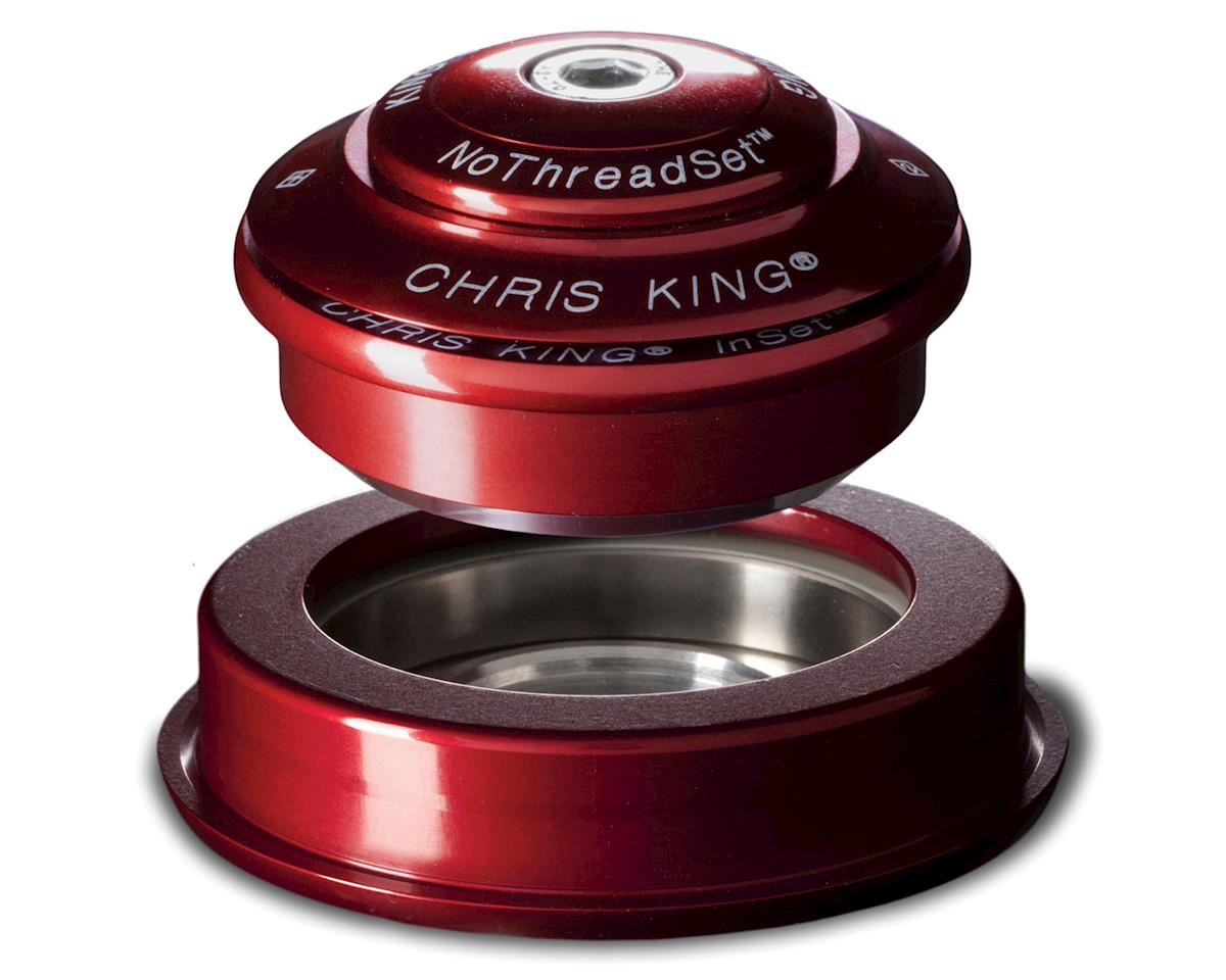 Chris King InSet 2 1.5 inch Tapered NoThreadSet Headset - Black (Red)