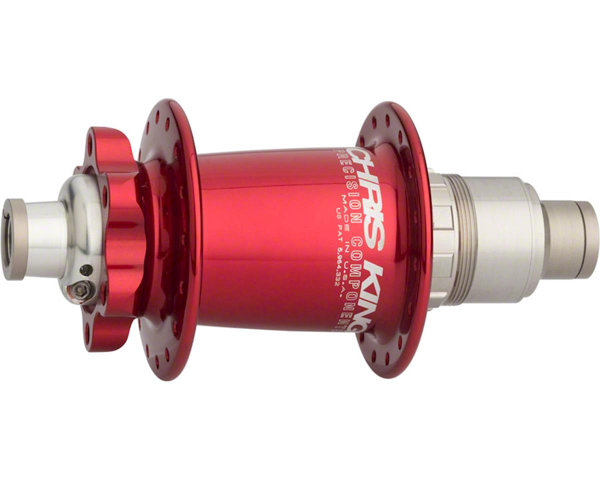 ISO XD Rear Disc Hub, 142mm x 12mm 32 Hole Red