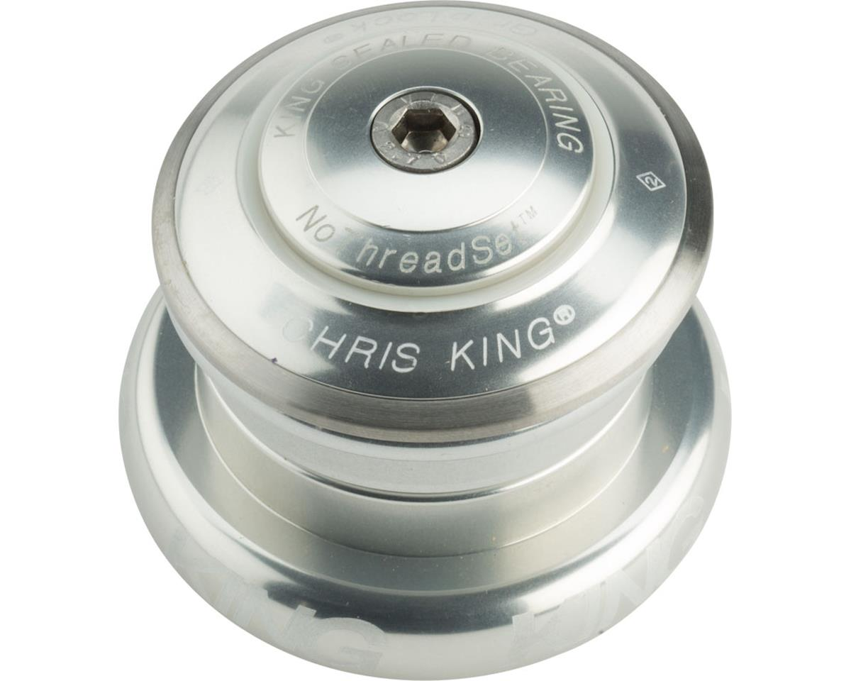 "Chris King InSet 7 Headset, 1 1/8-1.5"" 44mm Silver"