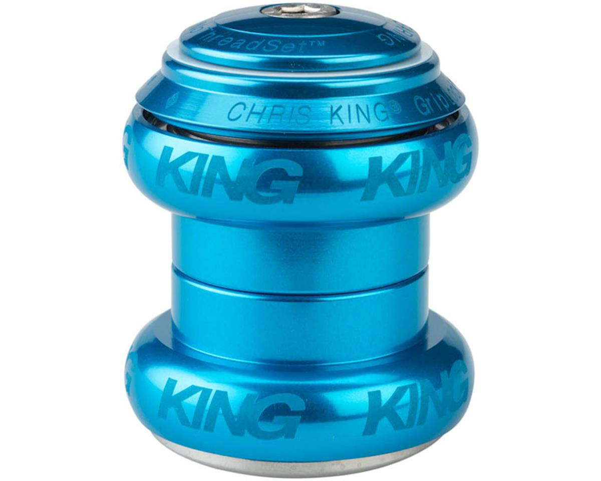 """Chris King NoThreadSet Headset, 1-1/8"""" Turquoise Sotto Voce"""