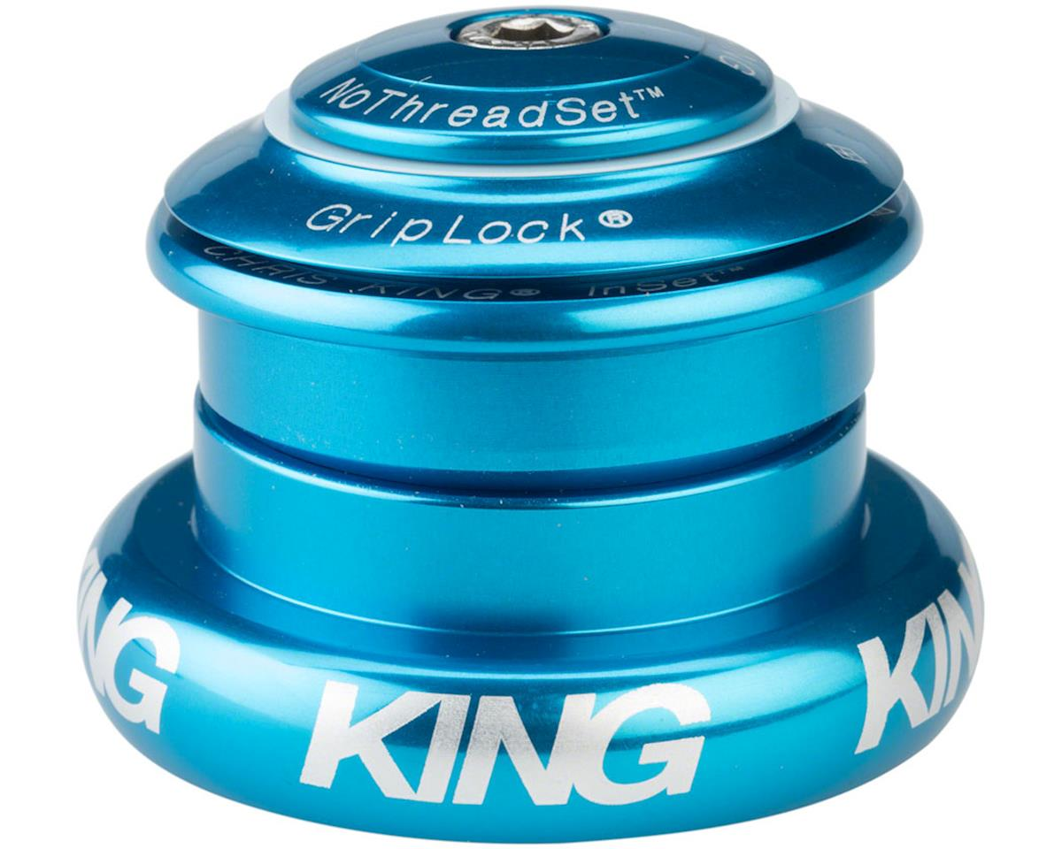 "Chris King InSet 7 Headset, 1 1/8-1.5"" 44mm Turquoise"