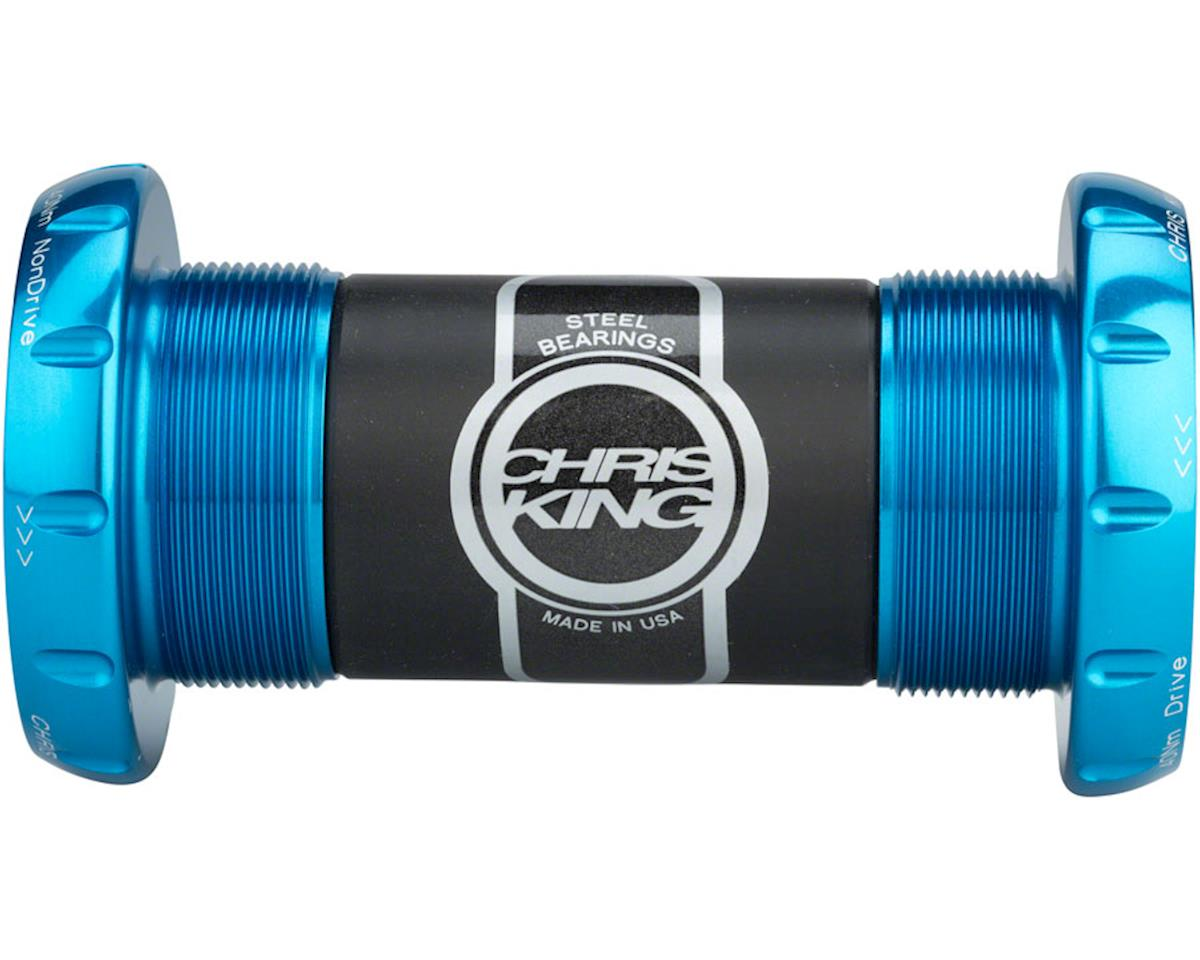 Chris King ThreadFit 30mm Bottom Bracket, Turquoise