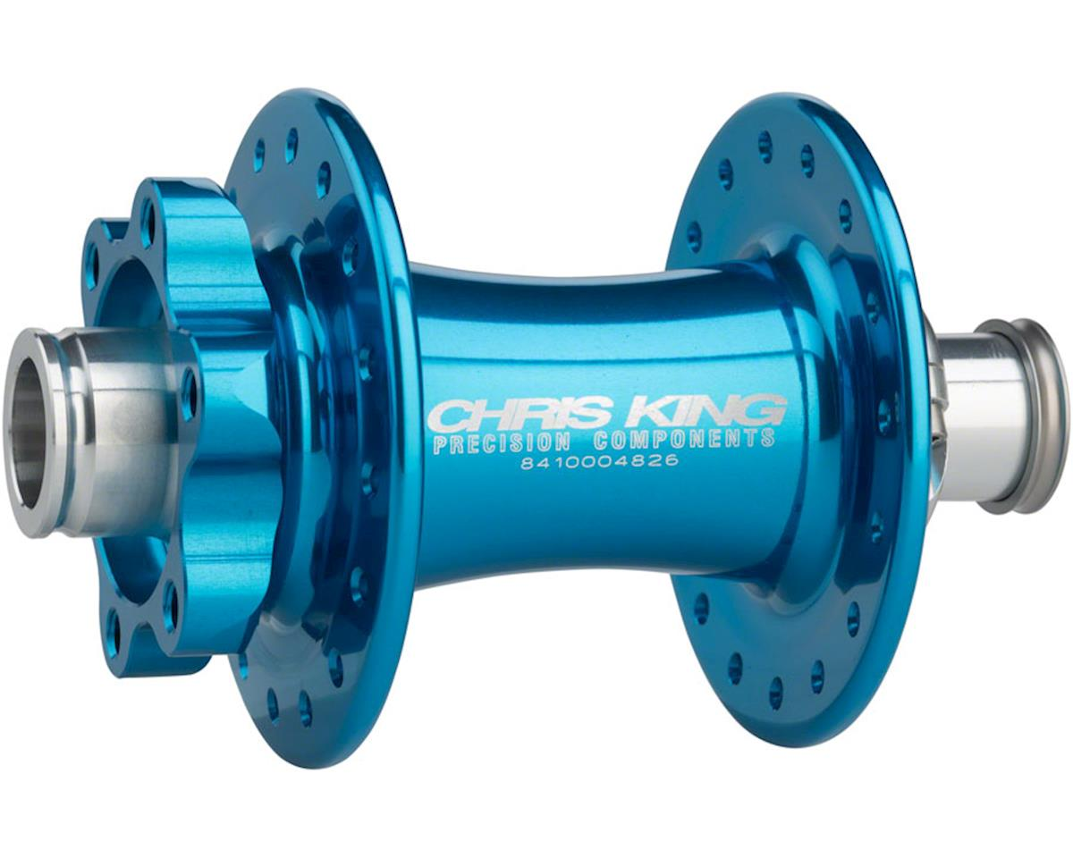 ISO 15 x 110mm Boost SD Front Disc Hub, 32 Hole Turquoise