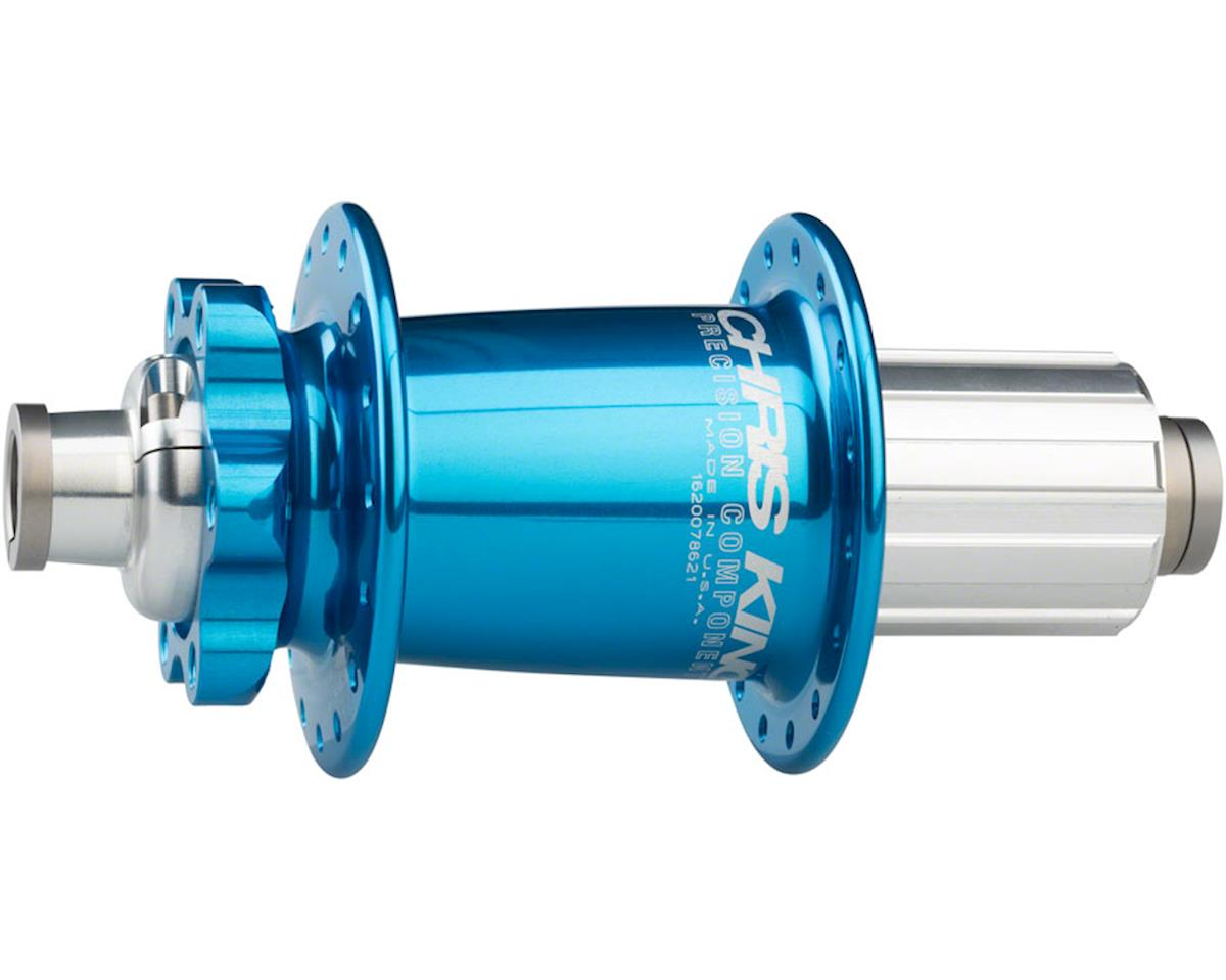 ISO Rear Disc Hub, 148 x 12mm, 32 Hole Turquoise