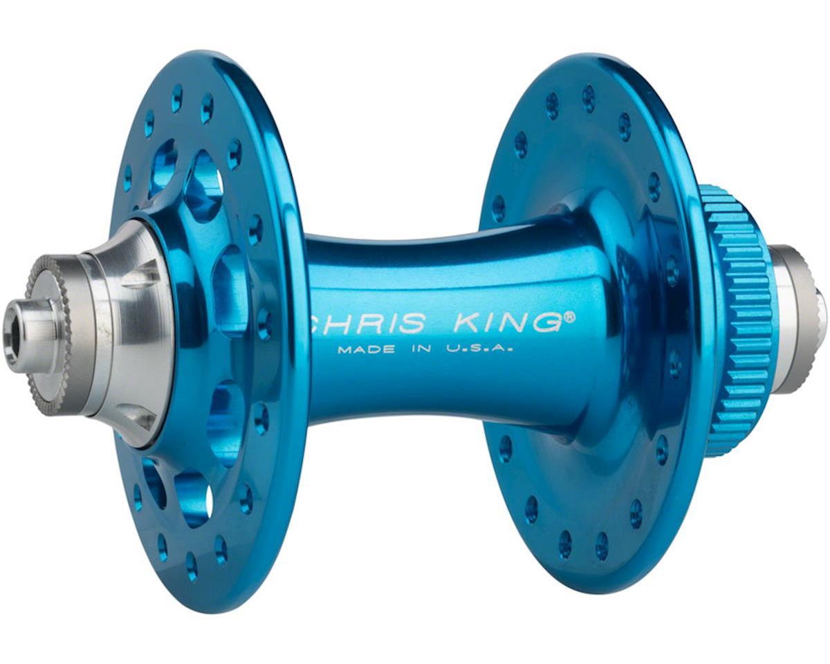 R45D 9mm QR Front Centerlock Disc Hub, 32 Hole, Turquoise