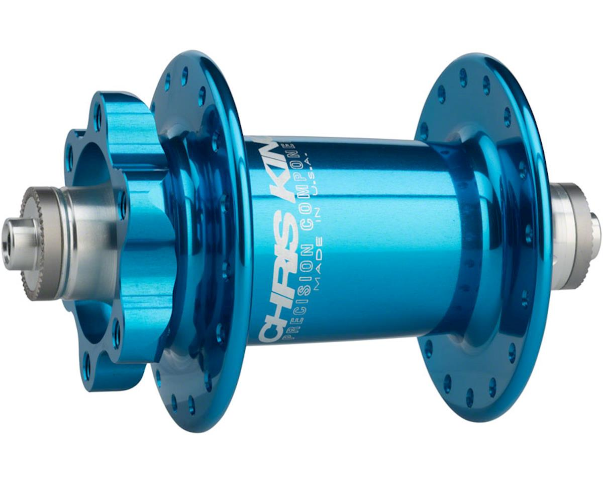 ISO QR Front Disc Hub, 32 Hole Turquoise