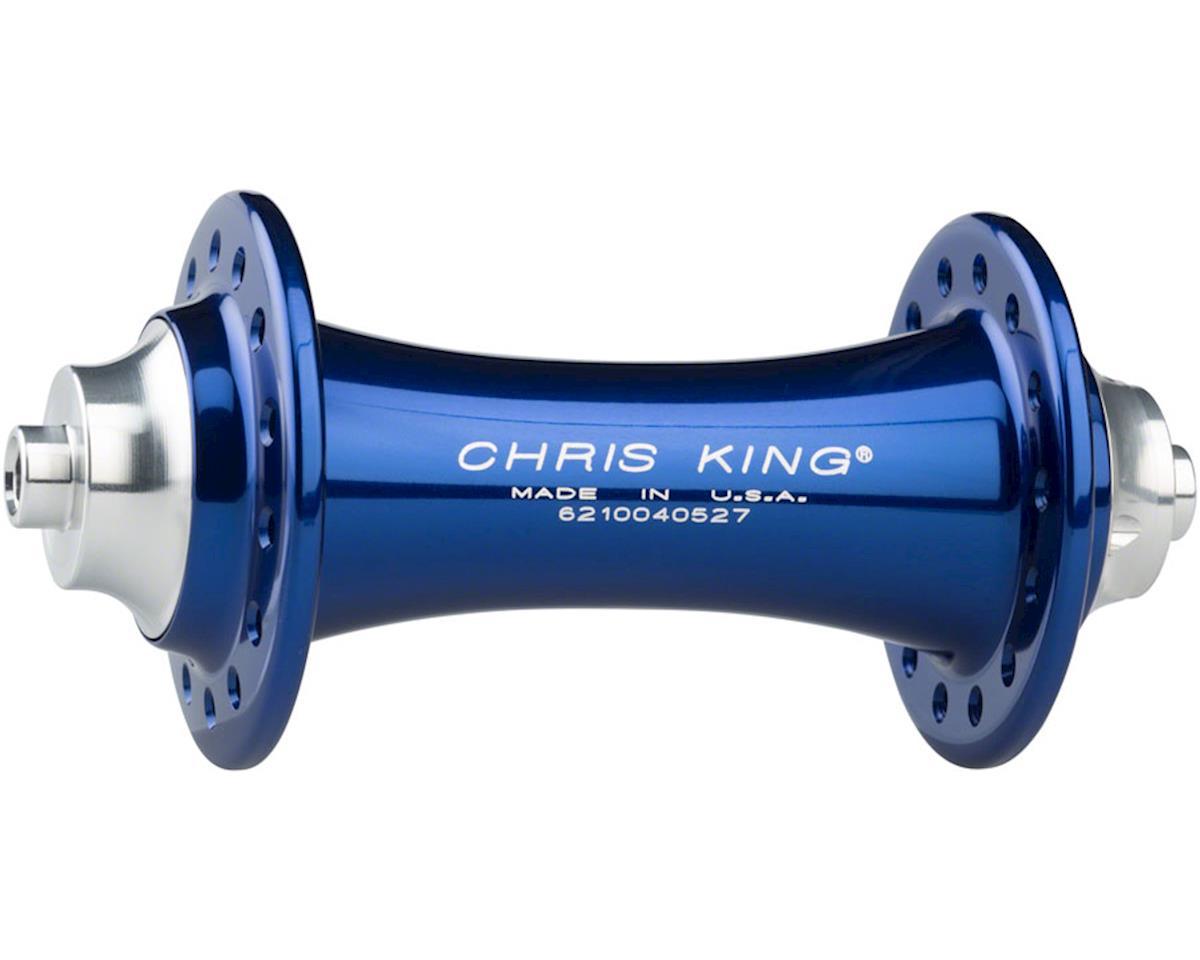 Chris King R45 QR Front Hub, 28 Hole Navy