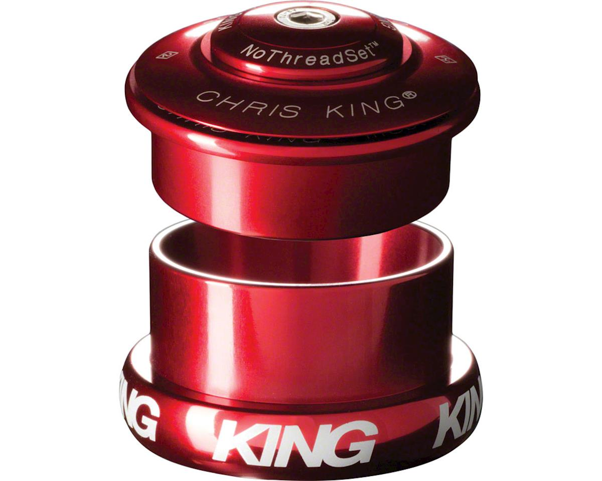 """Chris King InSet 5 Headset, 1-1/8-1.5"""" 49mm Red"""