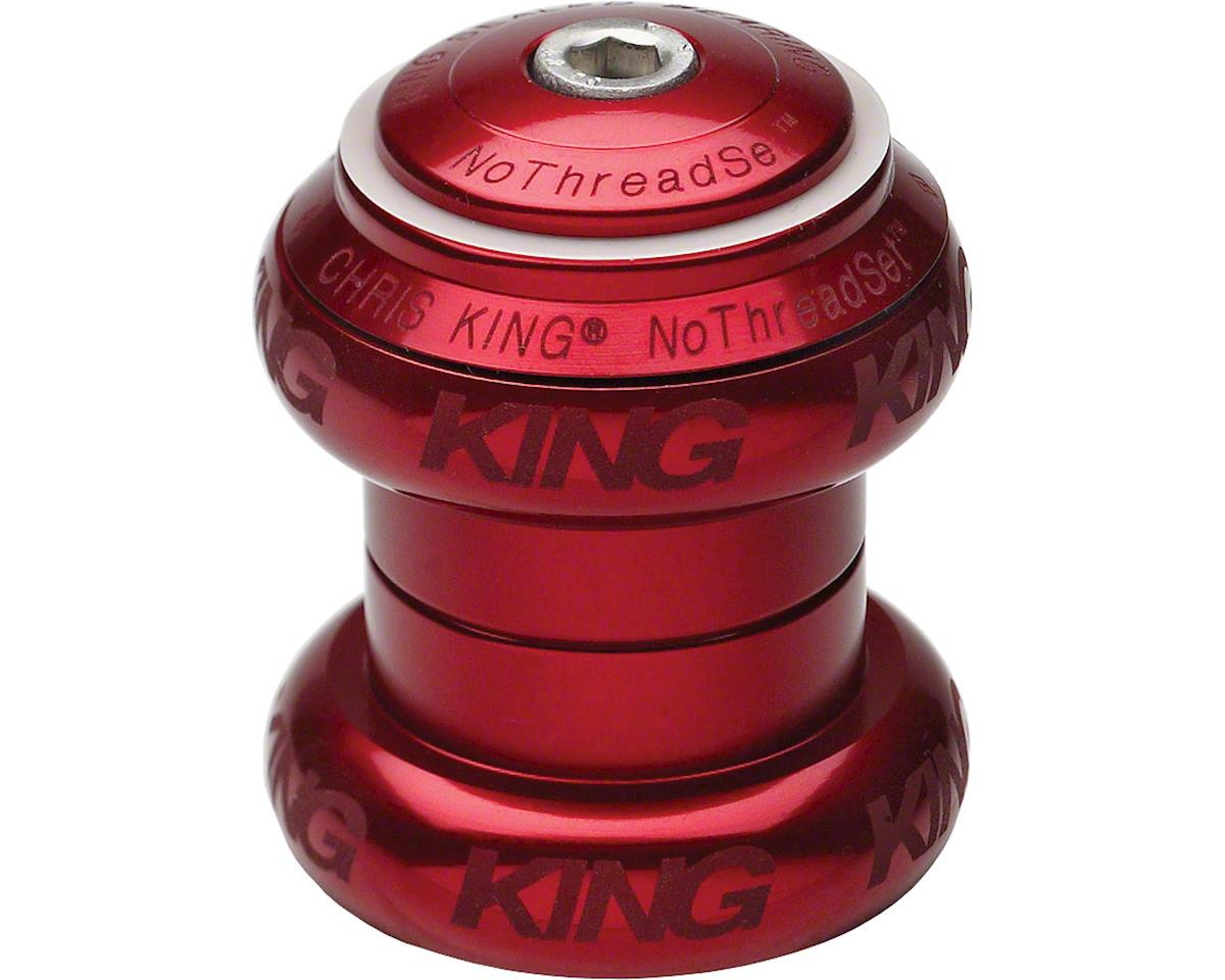 "Chris King NoThreadSet Headset, 1"" Red Sotto Voce"