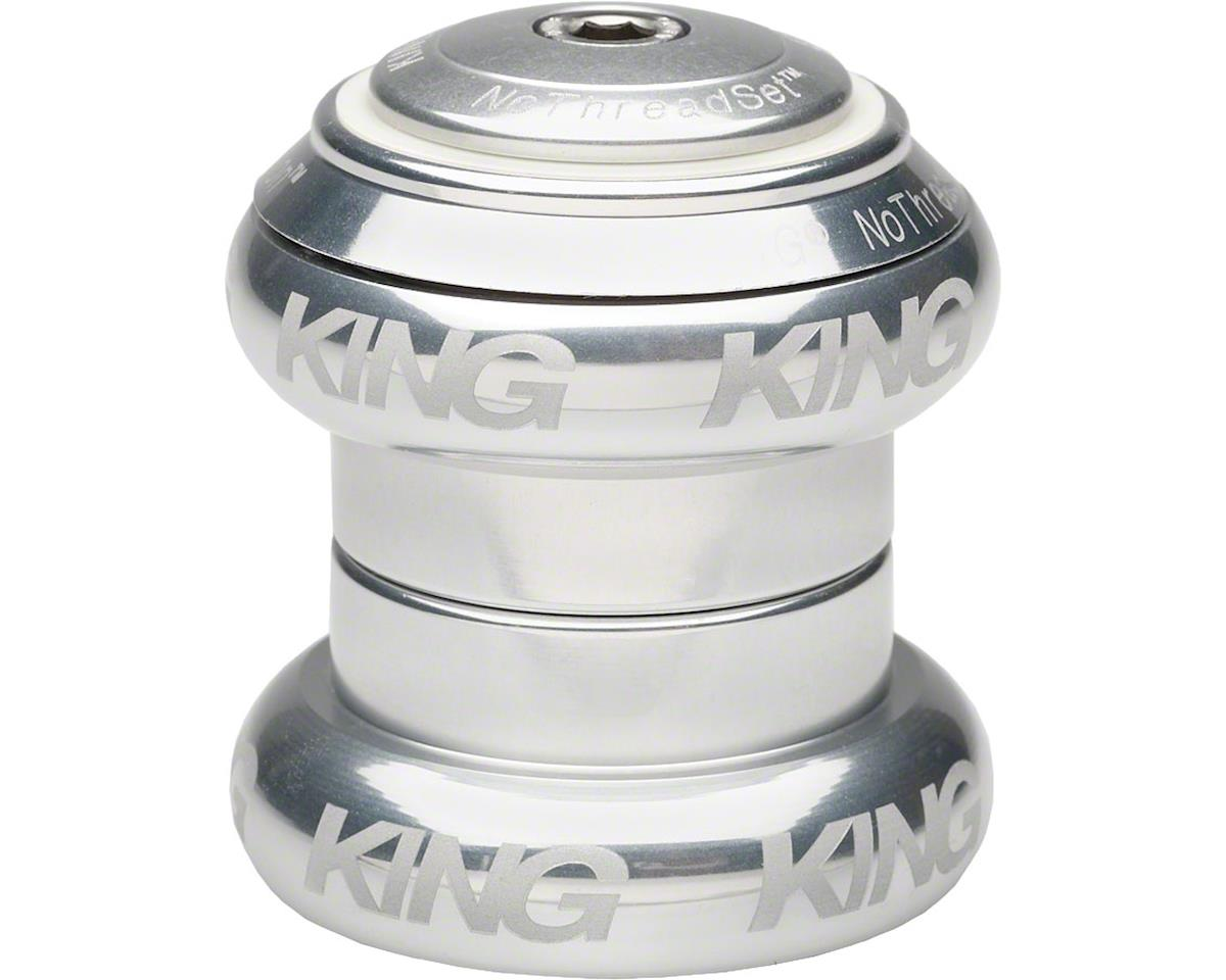 "Chris King Devolution Headset, 1-1/4""- 1-1/8"" Silver Sotto Voce"