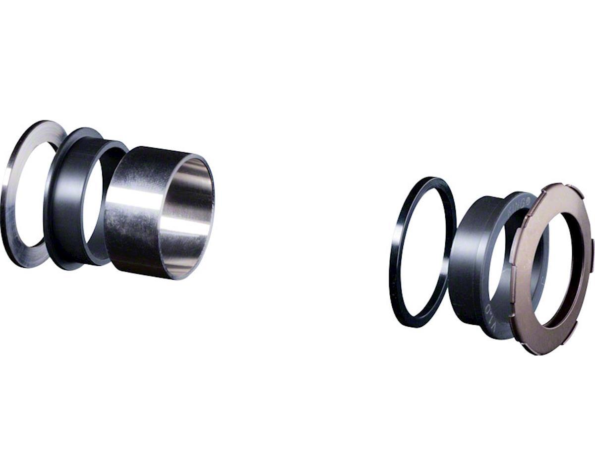 Chris King ThreadFit 24 Bottom Bracket Conversion Kit #13, Stepped Mtn, 73mm