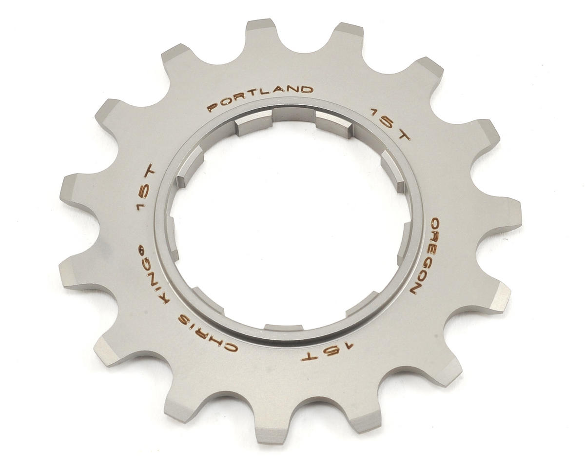 Chris King Stainless Single Speed Cog (15T)