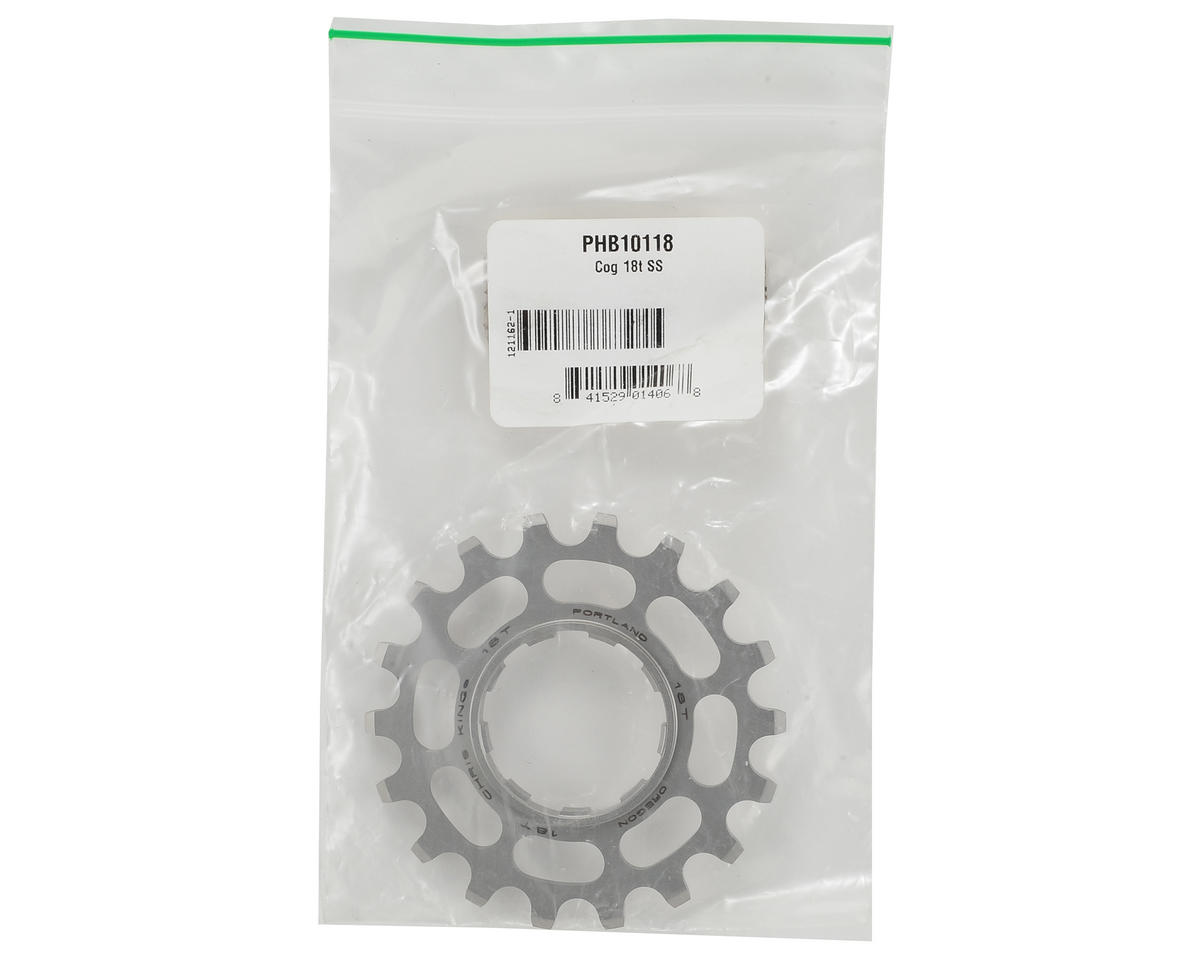 Chris King Stainless Single Speed Cog (18T)