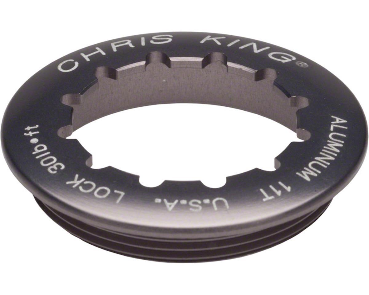 Chris King Aluminum Lock Ring for R45 Shimano Hubs, 11 Tooth