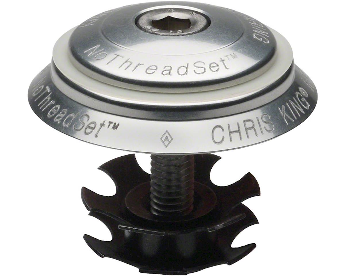 """Chris King NoThreadSet Headset Conversion, 1"""" Silver Sotto Voce   relatedproducts"""