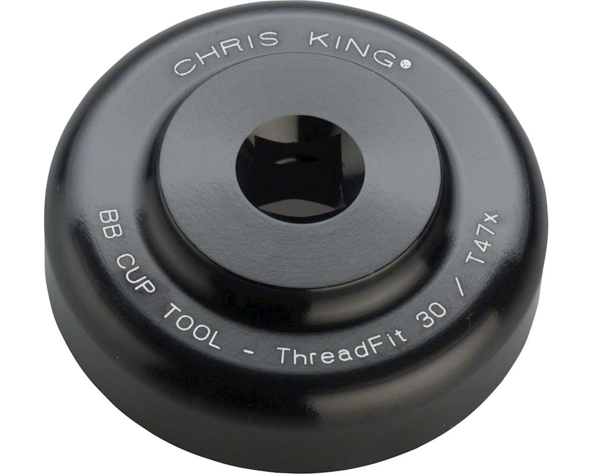 Chris King Bottom Bracket Cup Installation Tool, ThreadFit 30 and T47-24x