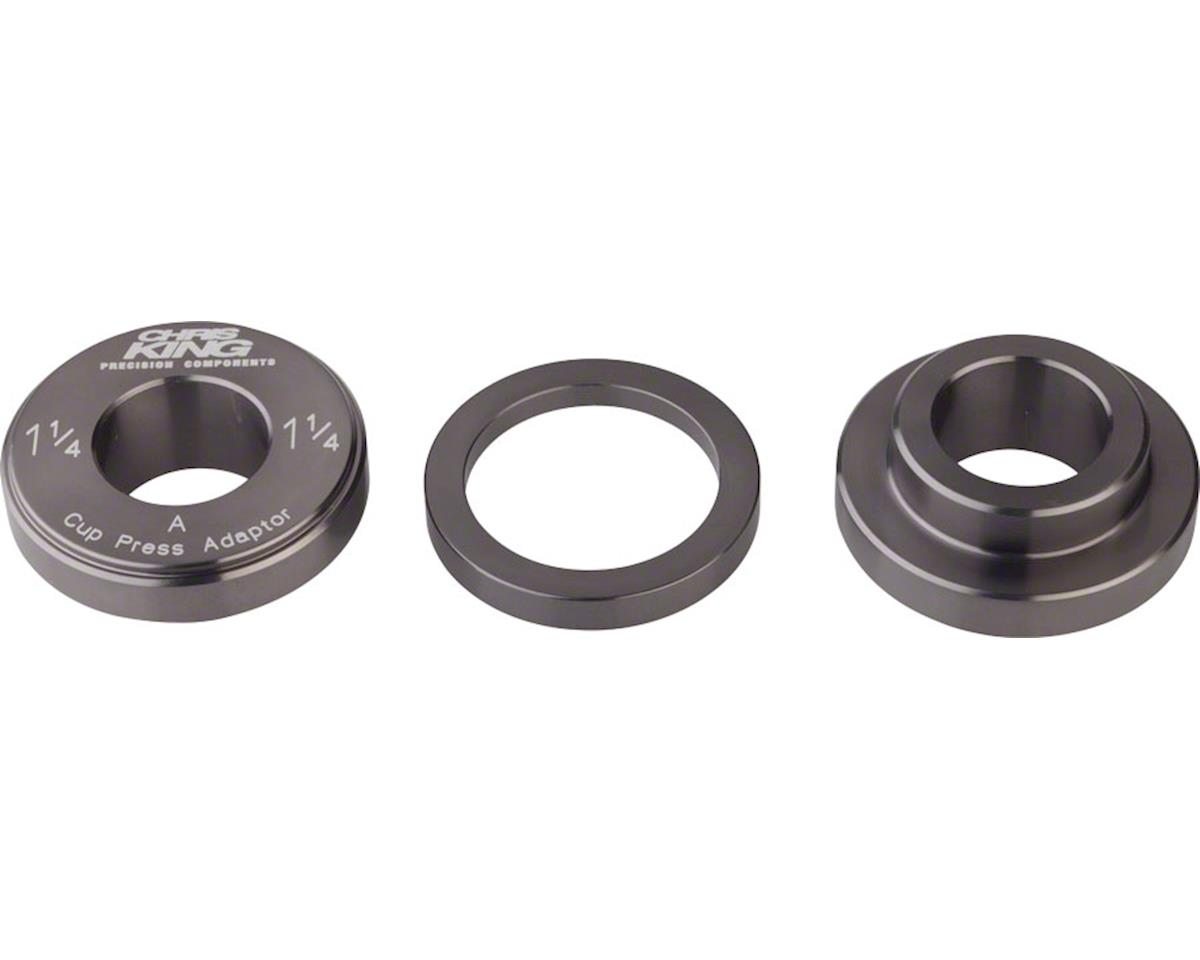 "Chris King PressFit Bottom Bracket and Headset Adaptor 1-1/4"" for 30mm"