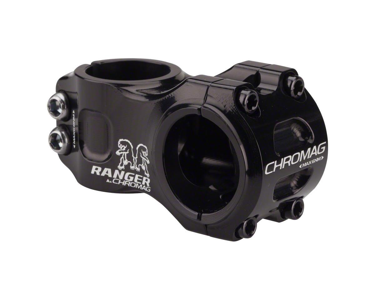 """Chromag Ranger V2 Stem (Black) (31.8mm Clamp) (1-1/8"""") (+/- 0°) (50mm)"""