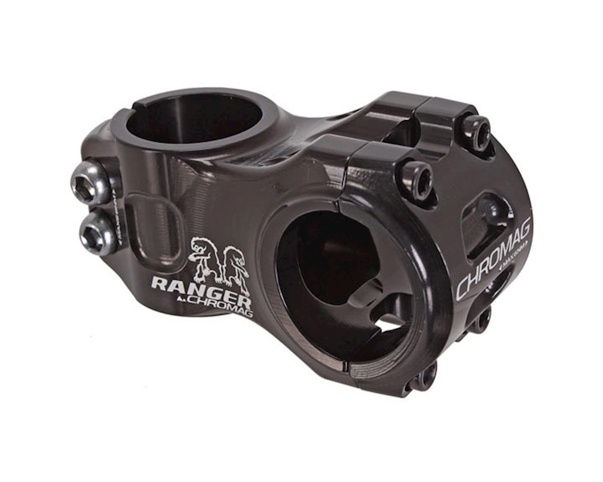 Chromag Chromag, Ranger V2, Stem, 1-1/8'', L: 60mm, 0°, Dia: 31.8mm, Black