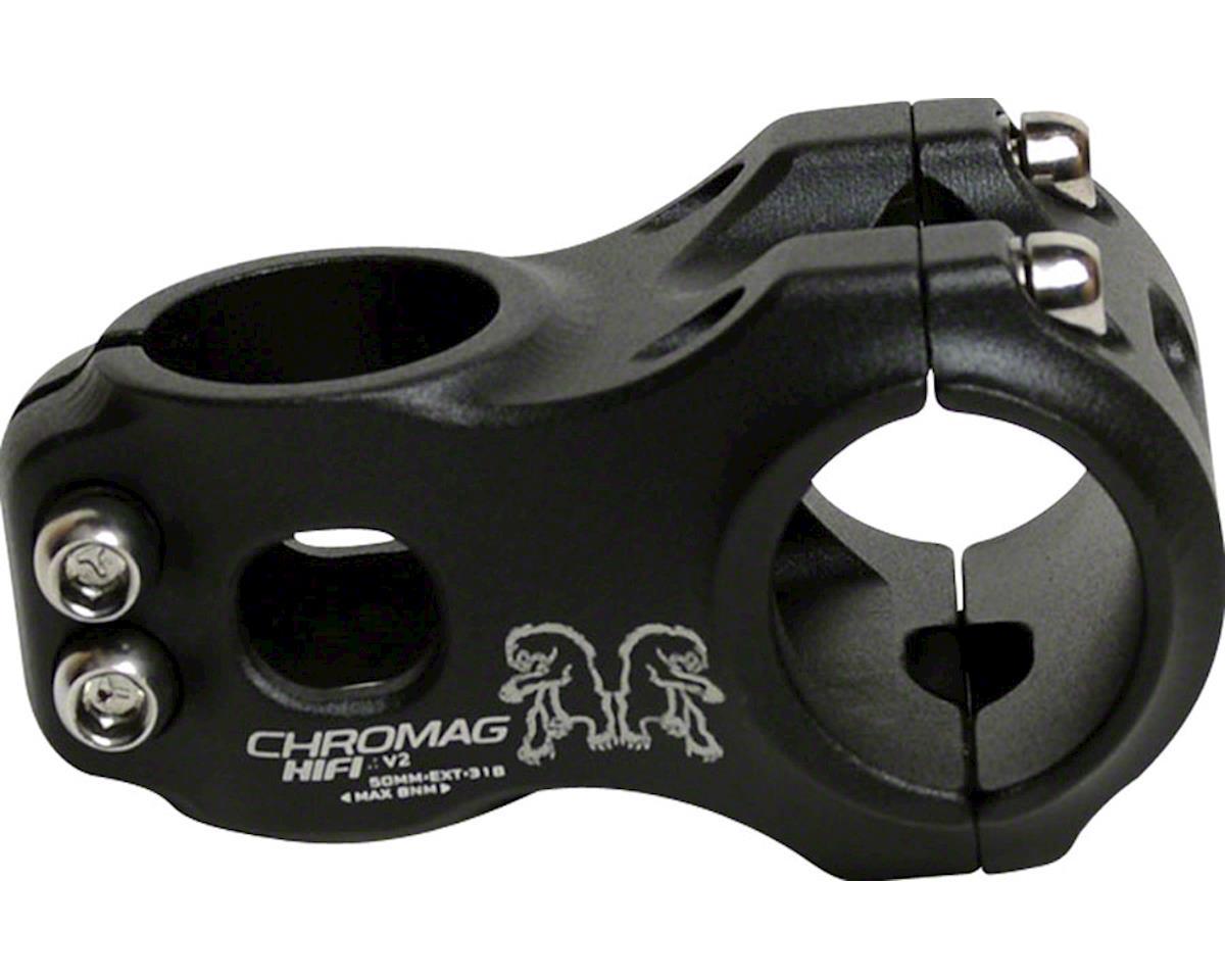 "Chromag HiFi Version 2 Stem (Black) (31.8mm Clamp) (1-1/8"") (+/- 0°) (40mm)"