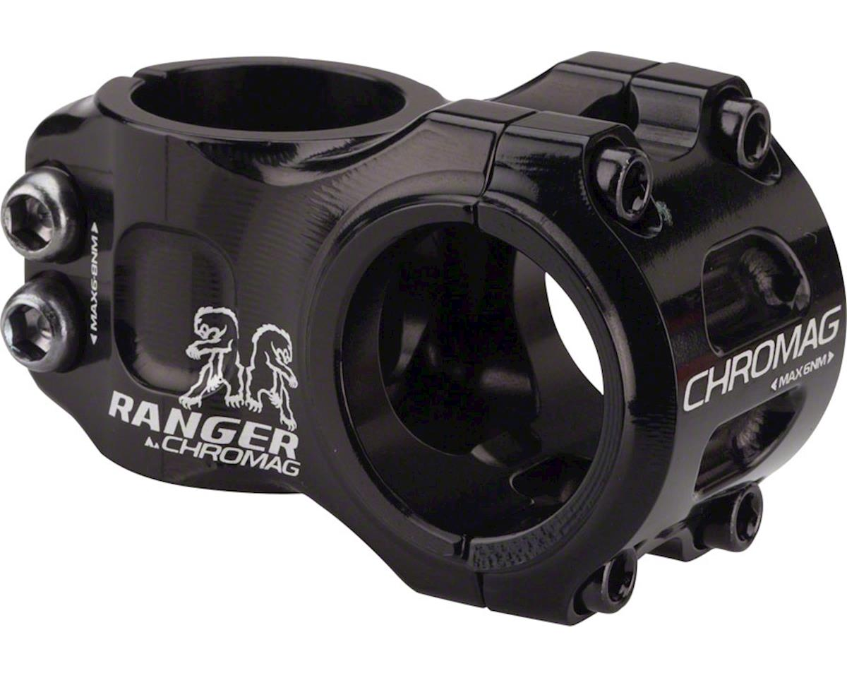 "Chromag Ranger V2 Stem: 31mm, 31.8mm Clamp, 1-1/8"", +/- 0 Degree, Black"
