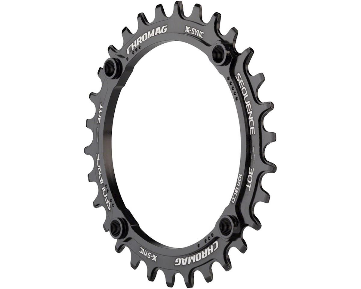 Chromag Sequence X-Sync Chainring (104mm BCD) (30T)