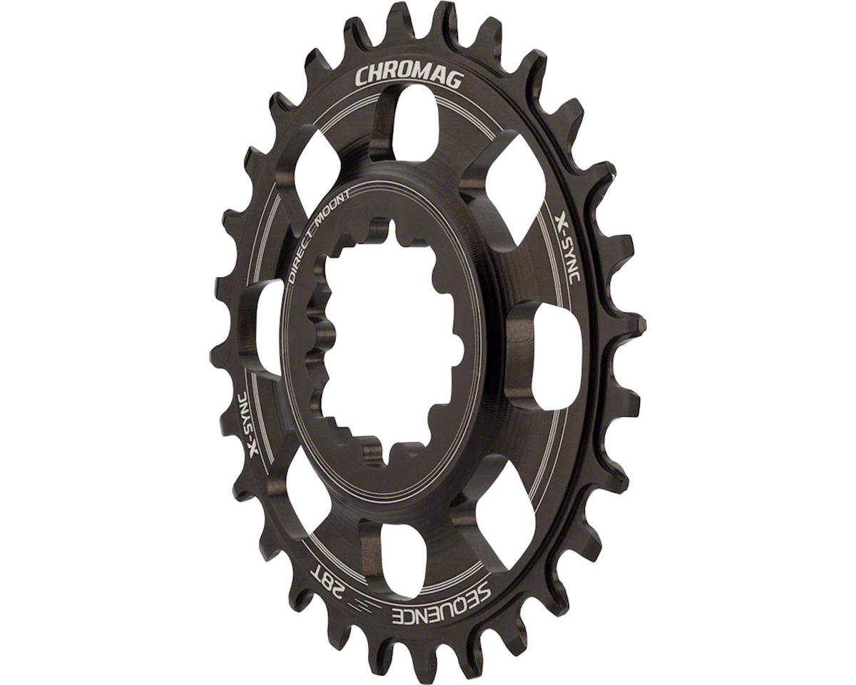 Chromag Sequence X-Sync Direct Mount Chainring (For SRAM GXP Cranks) (28T)