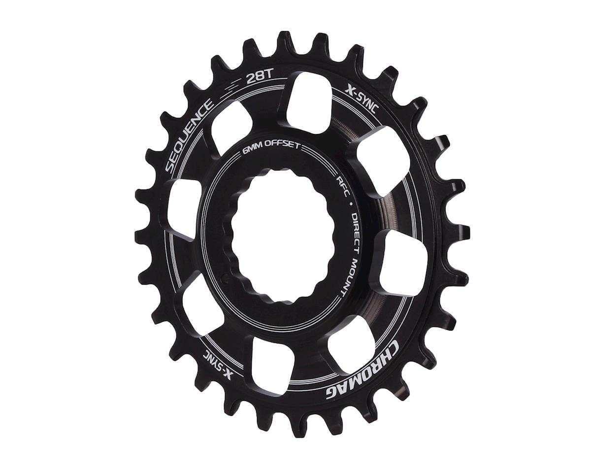 Chromag Chromag, Sequence, 28T, 10/11sp, BCD: Direct Mount, Chainring, For Race Face Cinch, 7075-T6 Alum